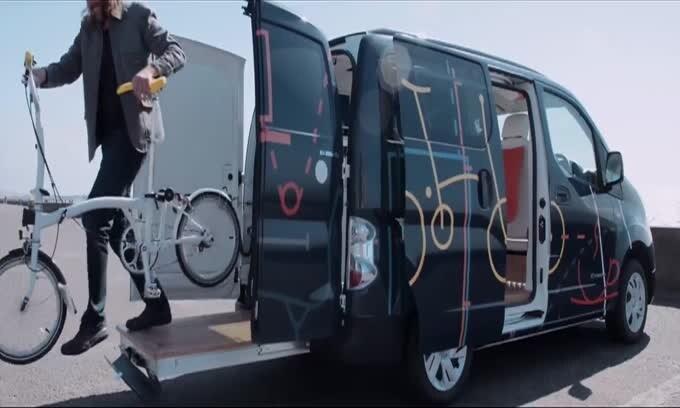 Nissan e-NV200 ufficio mobile