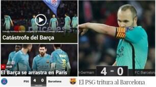 Poker Psg, media spagnoli: «Barça, figuraccia storica»