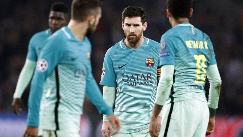 Barcellona e Messi umiliati, tutti i numeri di una notte da incubo