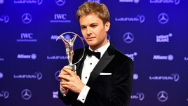 F1: Nico Rosberg premiato ai Laureus Award