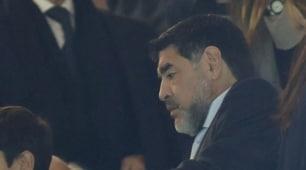Real Madrid-Napoli, anche Maradona allo stadio con Rocio