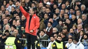 Sarri non lascia la sua tuta neanche di fronte al Real Madrid