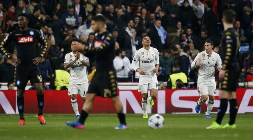 Champions League, Real Madrid-Napoli 3-1: capolavoro Insigne, poi Benzema, Kroos e Casemiro