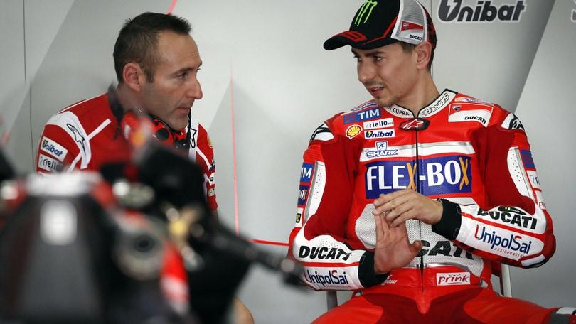 MotoGp Ducati, Lorenzo: «Lontano dai primi»
