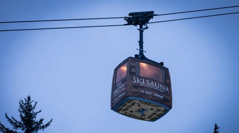 La prima Ski Sauna di QC Terme