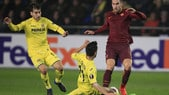 Europa League Villarreal-Roma 0-4, il tabellino