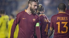 Daniele De Rossi: «Siamo tutti vicini a Florenzi. Dzeko? Non sono affatto sorpreso»