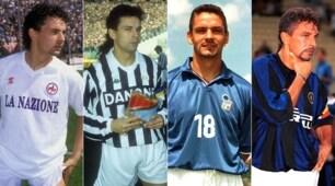 Mezzo secolo di Baggio: tutte le maglie della sua carriera