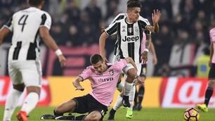 La Juventus non delude: Palermo battuto 4-1