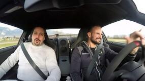 Nissan GT-R: Liuzzi racconta la sua evoluzione... driftando!