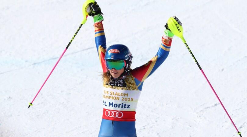 Mikaela Shiffrin annichilisce la concorrenza, suo lo slalom mondiale di St. Moritz