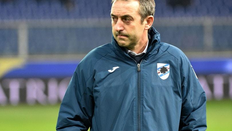 Serie A Sampdoria, Giampaolo: «Cagliari nostra bestia nera? Non ci credo...»