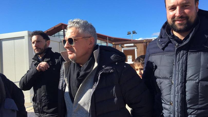 Baggio, compleanno tra Norcia e Amatrice per i 50 anni: «Per capire bisogna esserci»