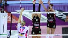 Volley: A1 Femminile, per Modena tie break vincente