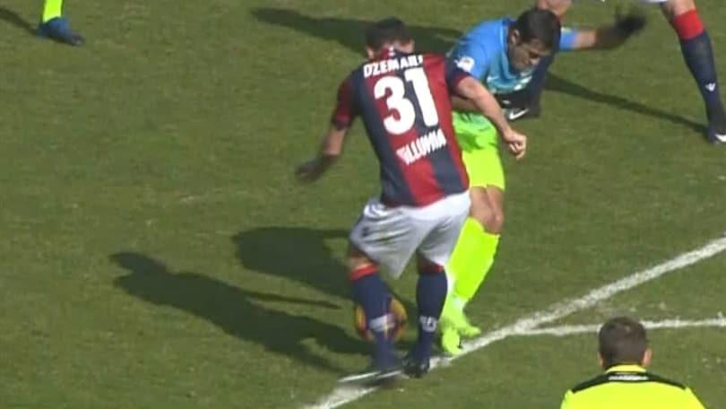 Serie A, Bologna-Inter 0-1: Gabigol come Ronaldo, Ma c'era rigore su Dzemaili