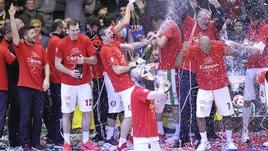 Basket: Festa Milano, sesta Coppa Italia per l'Olimpia