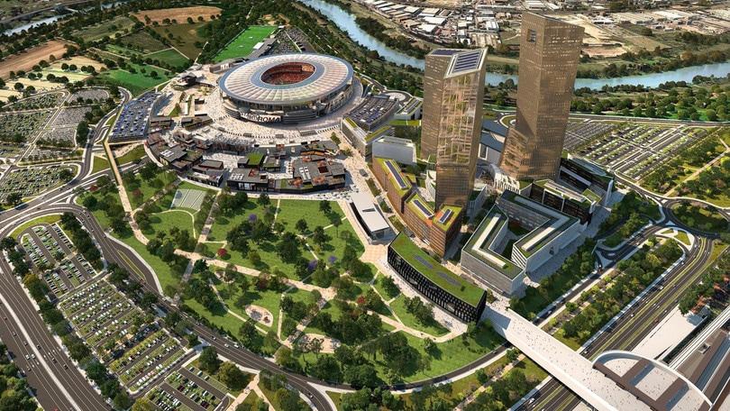 Stadio della Roma, Grillo: «Se si farà sarà sentita la popolazione»