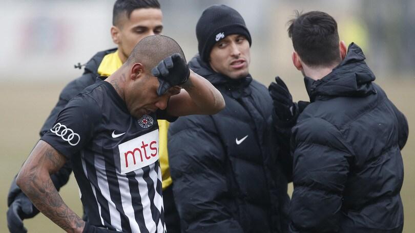 In Serbia insulti razzisti a un giocatore: esce dal campo in lacrime