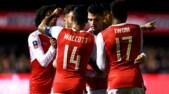 FA Cup, Sutton-Arsenal 0-2: Lucas Perez e Walcott regalano i quarti ai Gunners