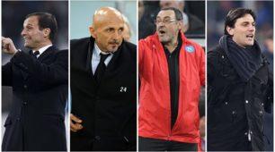 Serie A. il borsino degli allenatori: chi resta e chi va via