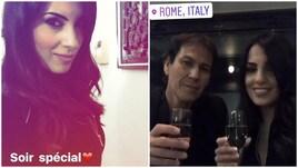 Garcia, festa di compleanno a Roma con la Brienza