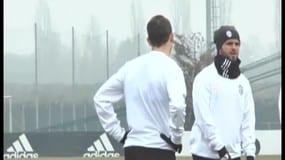 L'allenamento della Juve alla vigilia della sfida contro il Porto