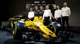 Formula 1. Renault R.S. 17: foto della nuova monoposto