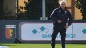 Genoa, primo allenamento per Mandorlini: tifosi in silenzio