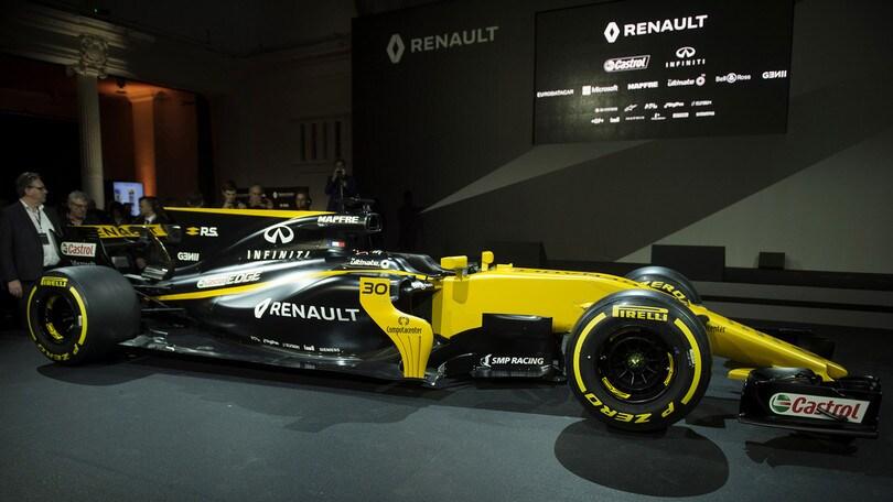 F1, ecco la nuova Renault: obiettivo quinto posto
