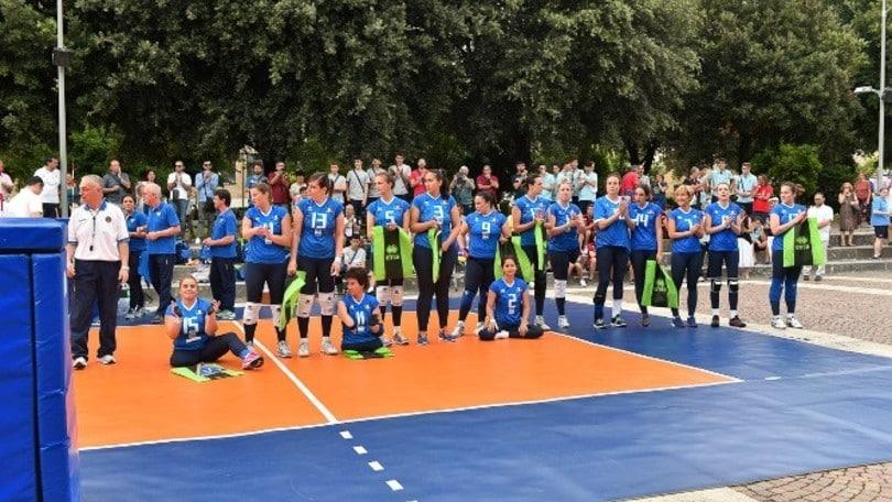 Sitting Volley: Le due squadre azzurre agli Europei 2017