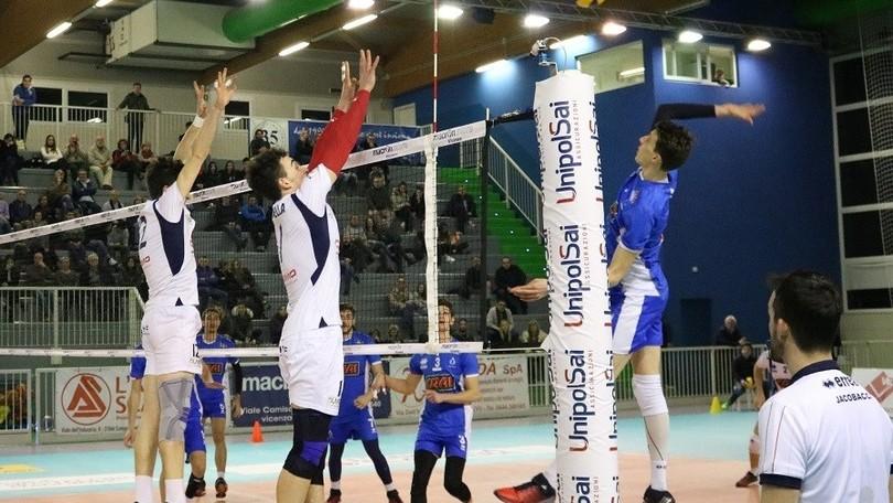 Volley: A2 Maschile Pool Salvezza, vincono Brescia, Alessano e Montecchio
