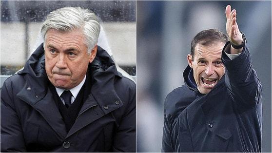 """È il giorno delle """"automulte"""": dopo Ancelotti anche Allegri"""