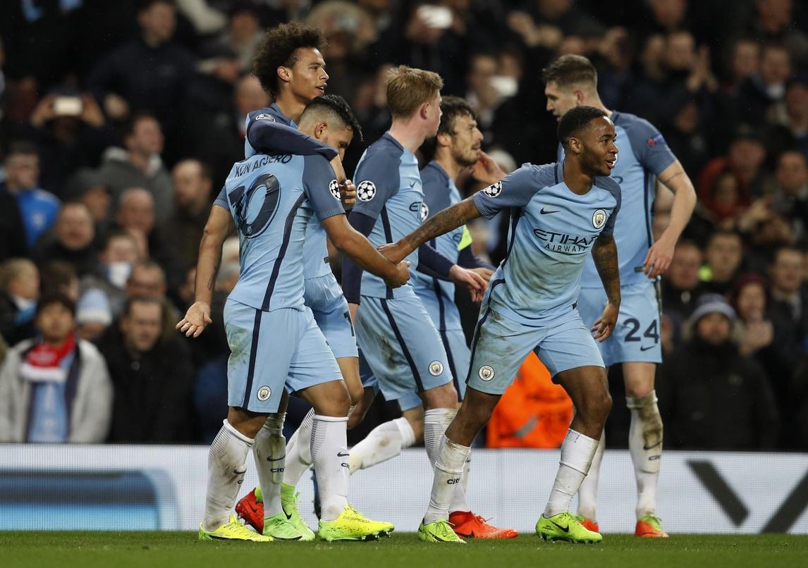 Champions League, Manchester City-Monaco 5-3: che spettacolo all'Etihad