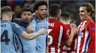 Risultati Champions League: poker Atletico Madrid, il City ne fa 5 al Monaco