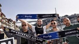 Porto-Juventus, la carica da Champions dei tifosi