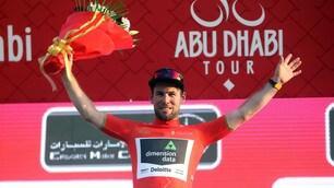 Abu Dhabi Tour, tappa e maglia rossa a Cavendish