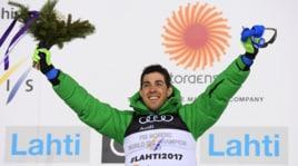 Mondiali sci nordico: Pellegrino, è festa oro a Lathi