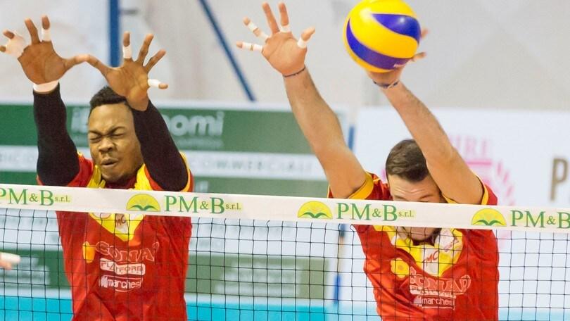 Volley: A2 Maschile Pool Promozione, la Conad vince la battaglia con Santa Croce