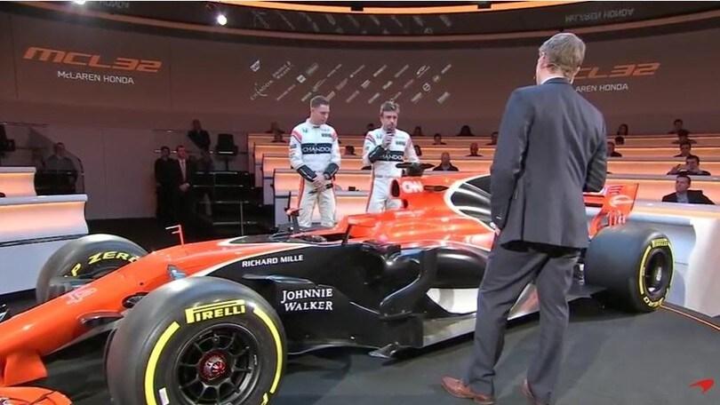 Arriva la nuova McLaren F1 di Alonso e Vandoorne: livrea arancione!