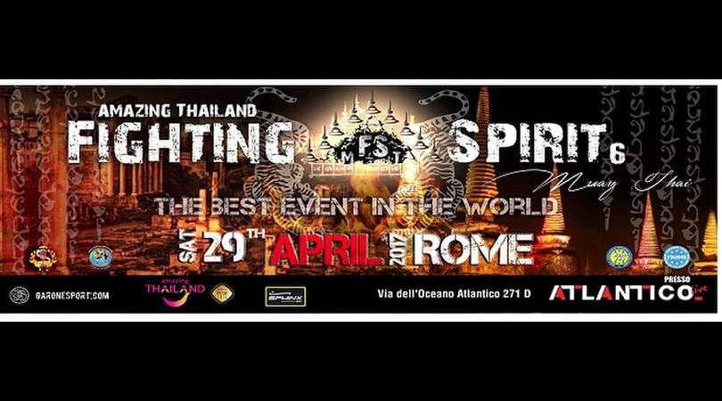 A Roma il campionato del mondo di Muay Tahi WMO