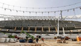 Atletico Madrid, tutto pronto per il Wanda Metropolitano