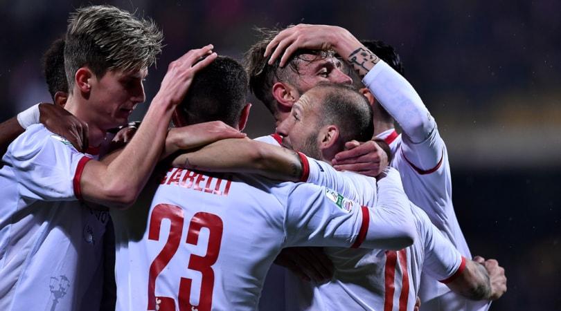 Serie B Benevento-Bari 3-4. I galletti sbancano il Vigorito