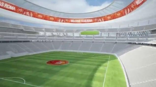 Stadio Roma: il tour virtuale