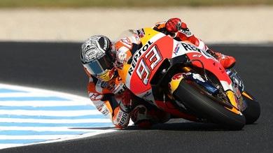 MotoGp: sublussazione della spalla destra per Marquez