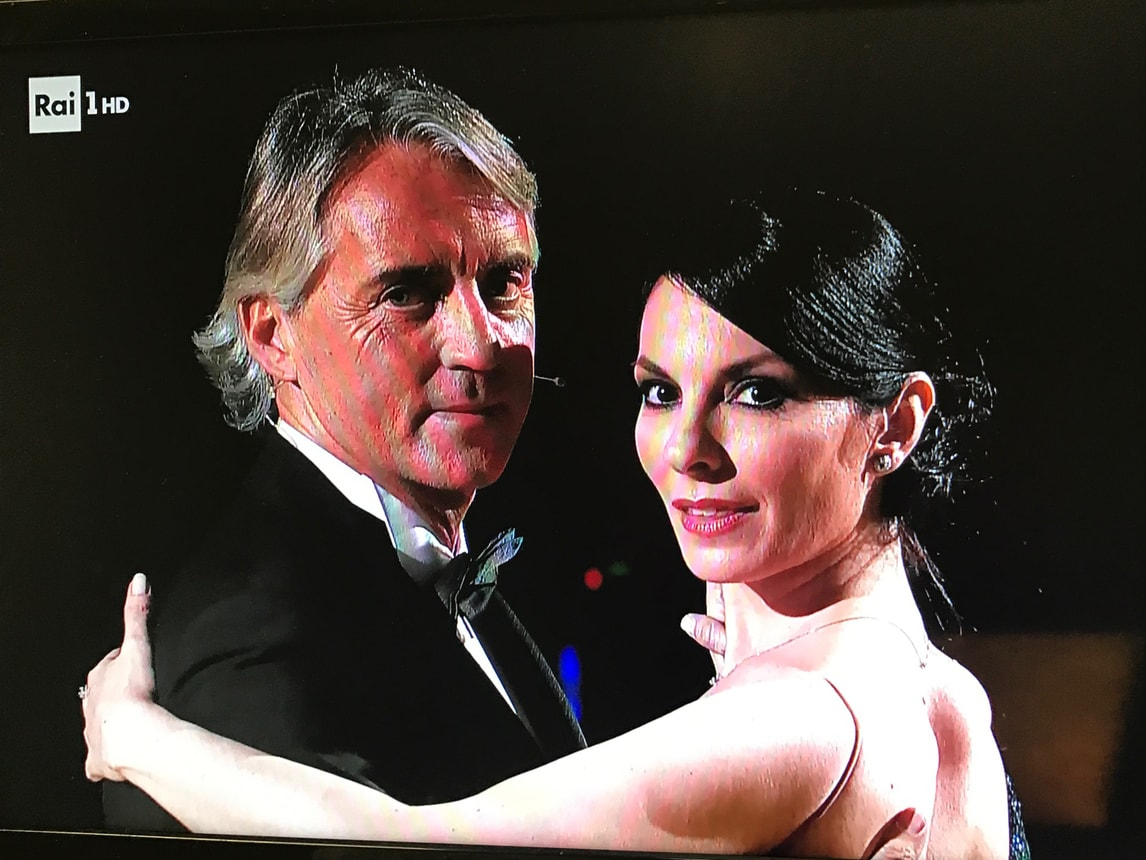 Mancini show a Ballando con le Stelle