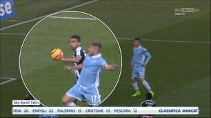 Lazio-Udinese, Ali Adnan tocca di mano: Pairetto dà il rigore