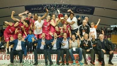 Anderson stende Lucca, decima Coppa Italia per Schio