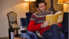 Juventus-Napoli? Per Buffon relax con vino rosso e un libro