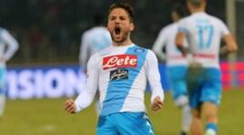 Napoli, Mertens: l'altro Pipita punta la Juve