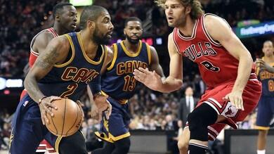 Irving salva Cleveland, Warriors ok a Philadelphia